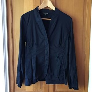 Eileen Fisher Tailored Linen Stretch Blazer